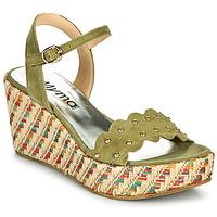 Schoenen Dames Sandalen / Open schoenen Myma POLIDO Kaki