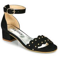 Schoenen Dames Sandalen / Open schoenen Myma POLIVAR Zwart
