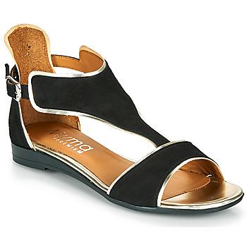 Schoenen Dames Sandalen / Open schoenen Myma POLIBO Zwart
