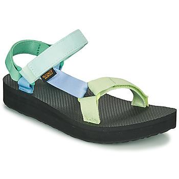 Schoenen Dames Sandalen / Open schoenen Teva MIDFORM UNIVERSAL Groen