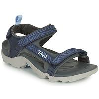 Schoenen Jongens Sandalen / Open schoenen Teva TANZA Blauw