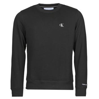 Textiel Heren Sweaters / Sweatshirts Calvin Klein Jeans J30J314536-BAE Zwart