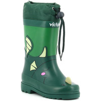 Schoenen Jongens Regenlaarzen Victoria LLUVIA ANIMALES 1060100 verde vert