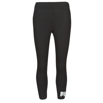 Textiel Dames Leggings Puma ESS 3/4 LOGO LEGGING Zwart