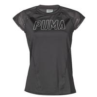 Textiel Dames T-shirts korte mouwen Puma WMN TRAINING TEE F Zwart