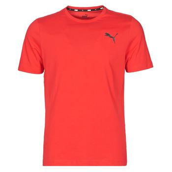 Textiel Heren T-shirts korte mouwen Puma ESS TEE Rood