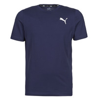 Textiel Heren T-shirts korte mouwen Puma ESS TEE Marine