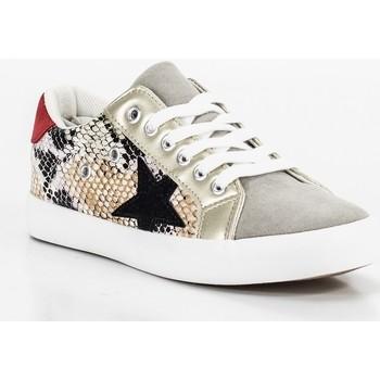Schoenen Dames Lage sneakers Keslem AD444 Gris