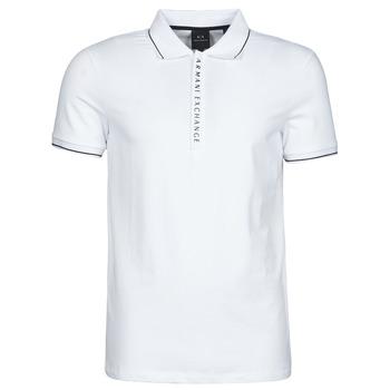 Textiel Heren Polo's korte mouwen Armani Exchange 8NZF71-ZJH2Z Wit