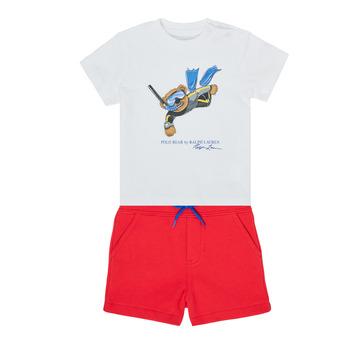 Textiel Jongens Setjes Polo Ralph Lauren SOULA Multicolour
