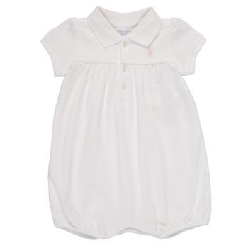 Textiel Meisjes Jumpsuites / Tuinbroeken Polo Ralph Lauren SIMONE Wit