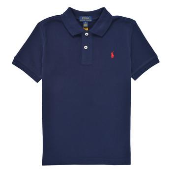 Textiel Jongens Polo's korte mouwen Polo Ralph Lauren TUSSA Marine