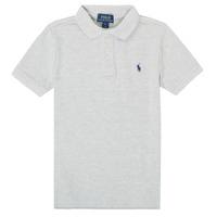 Textiel Jongens Polo's korte mouwen Polo Ralph Lauren MENCHI Grijs
