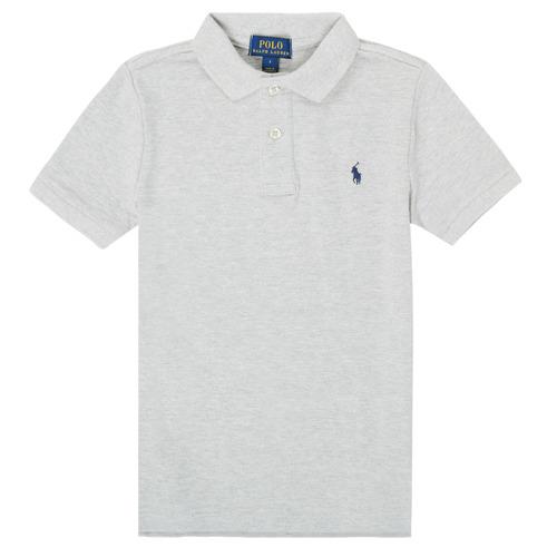 Textiel Jongens Polo's korte mouwen Polo Ralph Lauren FRANCHI Grijs