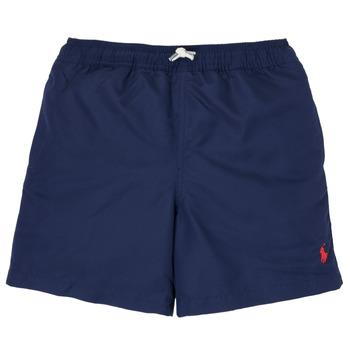Textiel Jongens Zwembroeken/ Zwemshorts Polo Ralph Lauren MAILLIA Marine