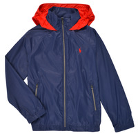 Textiel Jongens Wind jackets Polo Ralph Lauren BRINNA Marine