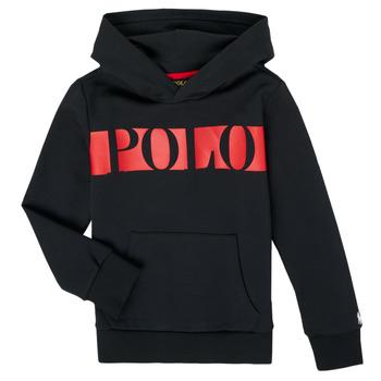Textiel Jongens Sweaters / Sweatshirts Polo Ralph Lauren VOULLI Zwart