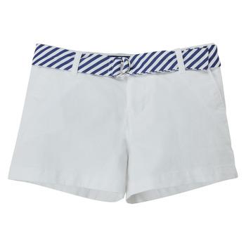 Textiel Meisjes Korte broeken / Bermuda's Polo Ralph Lauren FILLI Wit