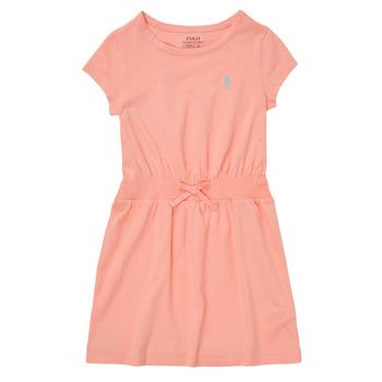 Textiel Meisjes Korte jurken Polo Ralph Lauren FROLLI Roze