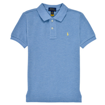 Textiel Jongens Polo's korte mouwen Polo Ralph Lauren BLEUNI Blauw