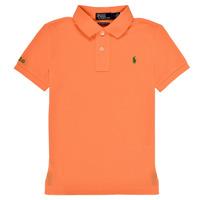 Textiel Jongens Polo's korte mouwen Polo Ralph Lauren POLLIE Oranje
