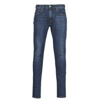 Textiel Heren Skinny jeans Diesel D-STRUKT Blauw / Donker