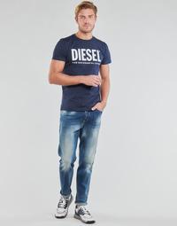 Textiel Heren Straight jeans Diesel D-FINNING Blauw / Medium