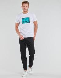 Textiel Heren Straight jeans Diesel D-FINNING Zwart