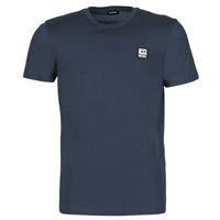 Textiel Heren T-shirts korte mouwen Diesel A00356-0AAXJ-81E Marine