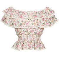 Textiel Dames Tops / Blousjes Guess SS NEW ISOTTA TOP Roze