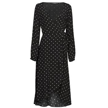 Textiel Dames Lange jurken Guess NEW BAJA DRESS Zwart