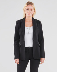 Textiel Dames Jasjes / Blazers Guess SELENE BLAZER Zwart