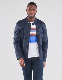 Textiel Heren Wind jackets Guess STRETCH BIKER Marine