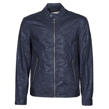 Textiel Heren Wind jackets Guess STRETCH BIKER Marine