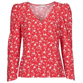 Textiel Dames Tops / Blousjes Naf Naf COLINE C1 Rood