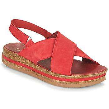 Schoenen Dames Sandalen / Open schoenen Think ZEGA Rood