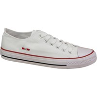 Schoenen Dames Lage sneakers Smith's Trampki Smiths 1044 White Wit
