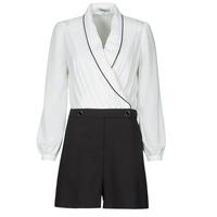 Textiel Dames Jumpsuites / Tuinbroeken Morgan SHAMIE Zwart / Wit