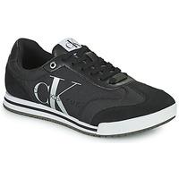 Schoenen Heren Lage sneakers Calvin Klein Jeans LOW PROFILE SNEAKER LACEUP PES Zwart