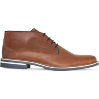 Schoenen Heren Klassiek Gaastra Murray Mid Lea M Cognac Bruin