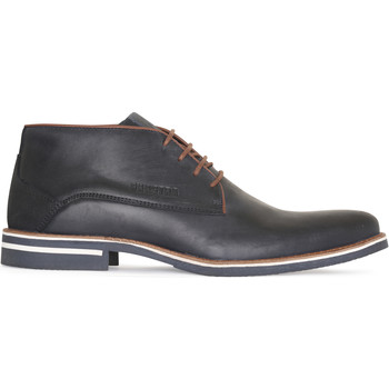 Schoenen Heren Klassiek Gaastra Murray Mid Lea M Navy Blauw