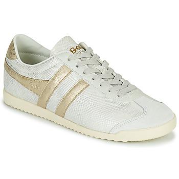Schoenen Dames Lage sneakers Gola BULLET LIZARD Beige / Goud