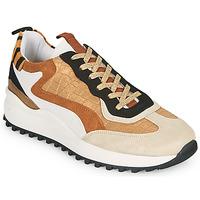Schoenen Dames Lage sneakers Ikks BS80205 Wit / Beige