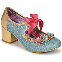 Schoenen Dames pumps Irregular Choice STRIKE A POSIE Blauw / Goud