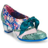 Schoenen Dames pumps Irregular Choice CORPORATE BEAUTY Groen / Blauw