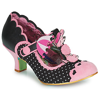Schoenen Dames pumps Irregular Choice POODLE PERFECT Zwart / Roze