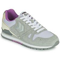 Schoenen Dames Lage sneakers Hummel MARATHONA SUEDE Grijs / Violet