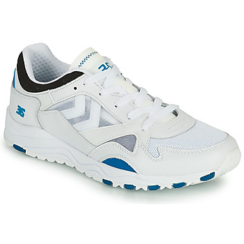 Schoenen Heren Lage sneakers Hummel EDMONTON 3S LEATHER Blauw
