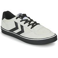 Schoenen Heren Lage sneakers Hummel STADIL 3.0 SUEDE Beige / Zwart