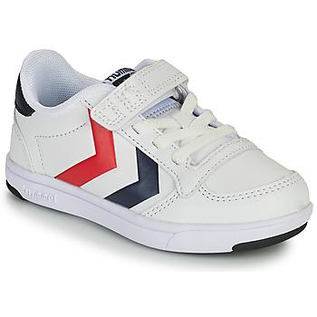Schoenen Kinderen Lage sneakers Hummel STADIL LIGHT QUICK JR Wit